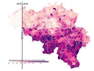 Belgium Opiods usage